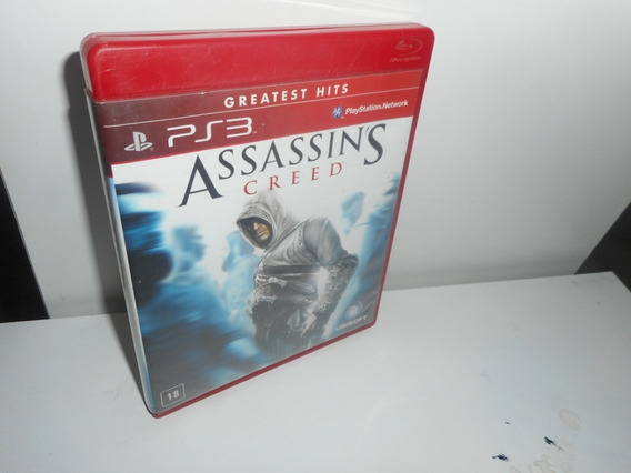 Assassin´s Creed Ps3 Mídia Física