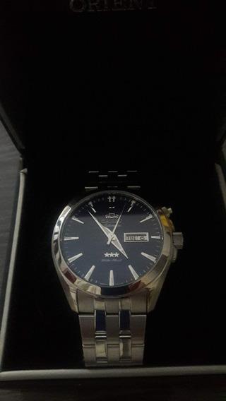 Relógio Oriente Automático Japan Luxo O Mas Lindo Relógio
