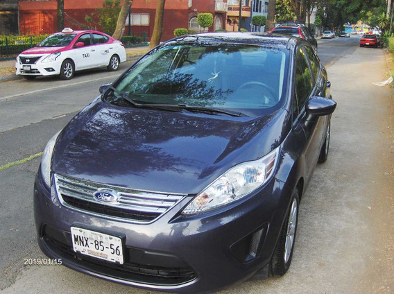 Ford Fiesta Se Automatico Factura Agencia