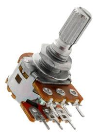 Potenciômetro Duplo Eixo L20 - Escolha O Modelo - 25 Peças