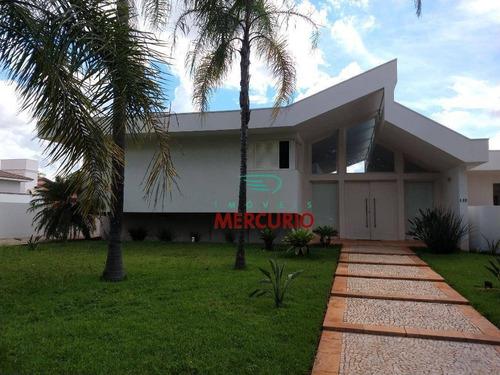 Imagem 1 de 30 de Casa Com 4 Dormitórios À Venda, 560 M² Por R$ 2.250.000,00 - Jardim Colonial - Bauru/sp - Ca2889