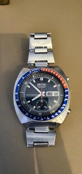 Relógio Seiko 6139 Azul 70m