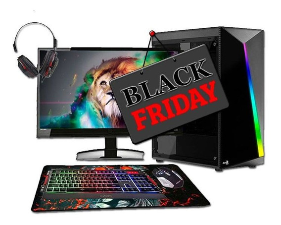Pc Gamer Completo Hércules Intel Gt730 8gb 500gb Blackfriday