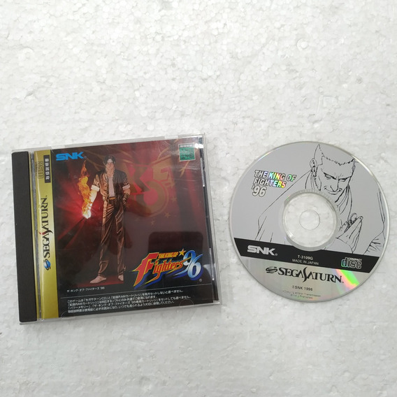 Super Robot Wars E The King Of Fighters Original Sega Saturn