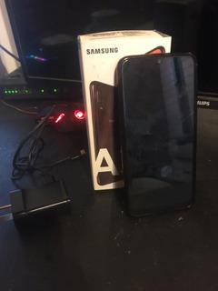 Celular Samsung Galaxy A30 Usado 32gb Negro Leer Descripcion