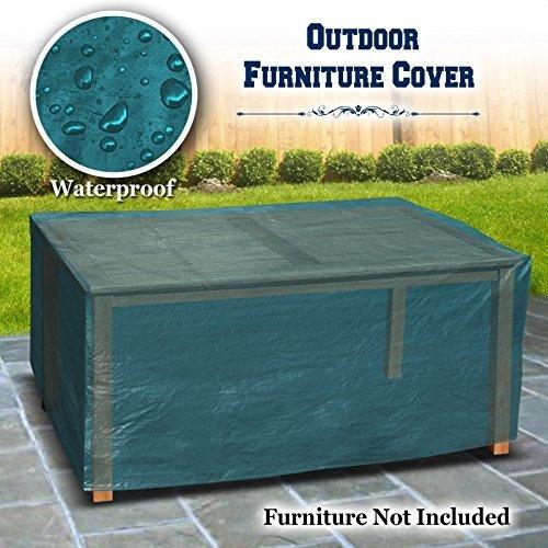 Imagen 1 de 7 de Patio Jardin Exterior Mesa Muebles Conjunto Cubierta 185cm