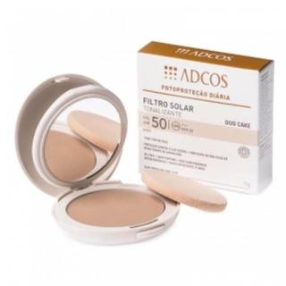 Adcos Filtro Solar Fps50 Tonalizante Duo Cake Nude 10g