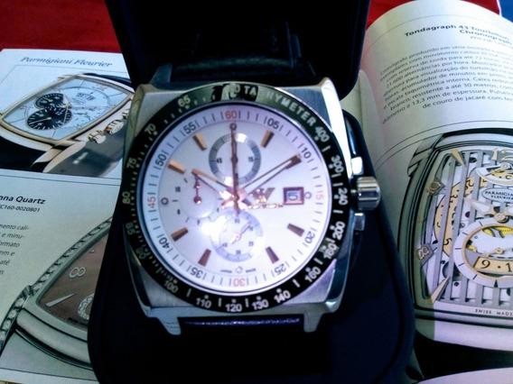Relógio Empório Armani Crono Data Igual Ferrari Ax