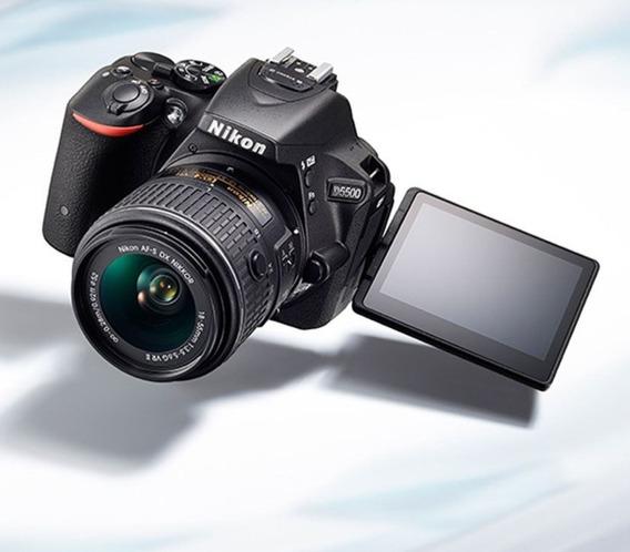 Camara Nikon D5500+tarjeta Memoria. Solo Cuerpo