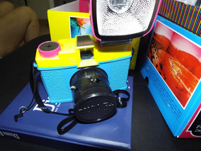 Diana F+ Edição Especial Cmyk Com 2 Filmes Color De 120mm