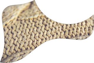 Escudo Palheteira Resinada Violão Aço Estilo Taylor Crochet