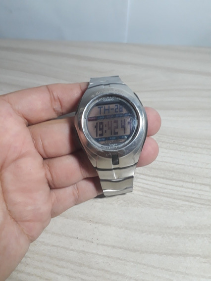 Relogio Casio E- Data Bank Db-70 Dual Time Original