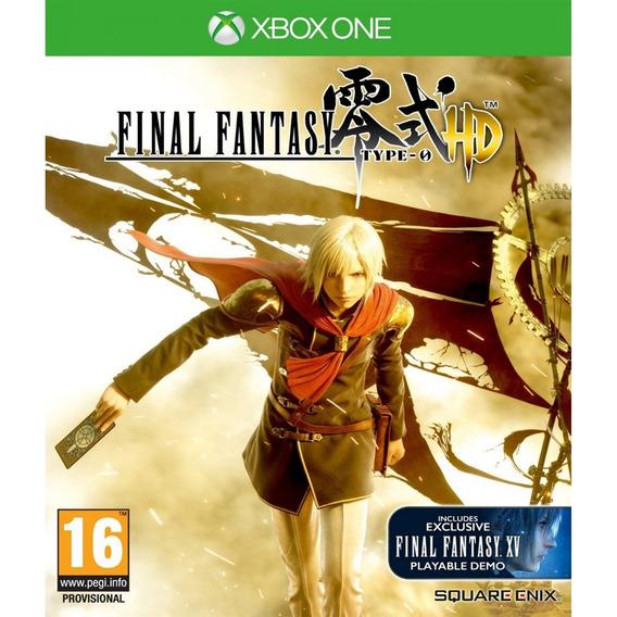 Final Fantasy Type-0 Hd - Xbox One Mídia Física Lacrado