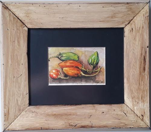 R. Burle Marx , Aquarela , 12x17cm !