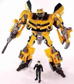 Transformers Carro Robo Bumblebee Sam Human Alliance 21cm