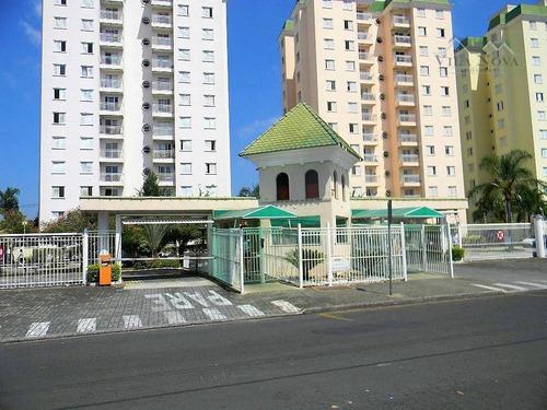 Apartamento Com 3 Dormitórios À Venda, 71 M² Por R$ 310.000,00 - Condomínio Portal Das Flores - Indaiatuba/sp - Ap2384