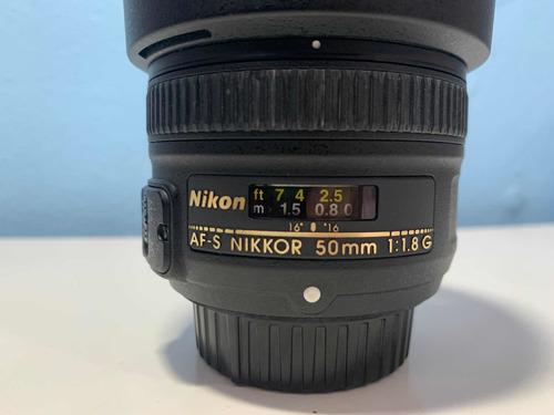 Lente Nikon 50mm 1.8g Af-s