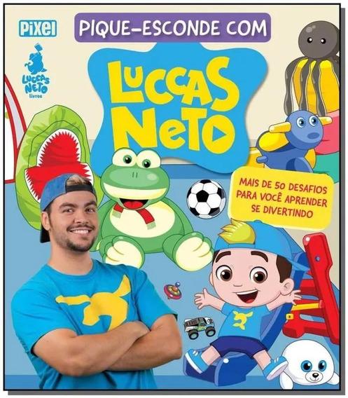 Livro Pique Esconde Com Luccas Neto - Pixel