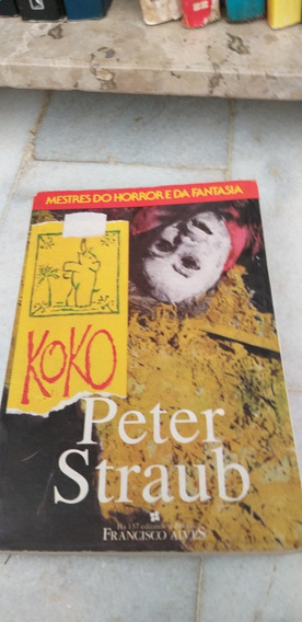 Livro .. Koko.. De Peter Straub...koko