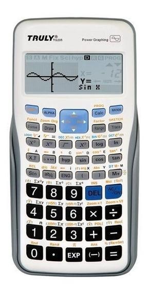 02 Und Calculadora Gráfica Truly Tg205 250 Funções Prime