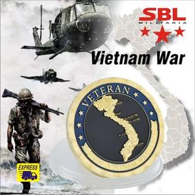 Moeda Comemorativa Veteranos Da Guerra Do Vietnã
