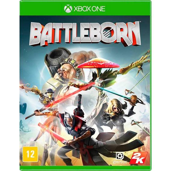 Battleborn Xbox One Mídia Física Novo Lacrado