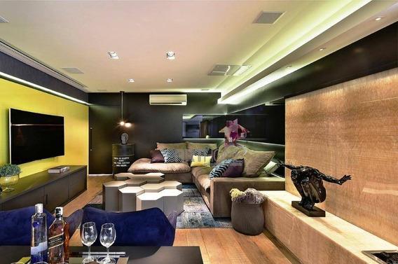 Apartamento Alto Padrão À Venda, 177 M² Por R$ 1.780.000 - Campestre - Santo André/sp - Ap1458
