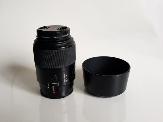 Lente Sony Macro 100mm 2.8