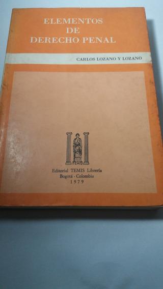 688 - Elementos De Derecho Penal