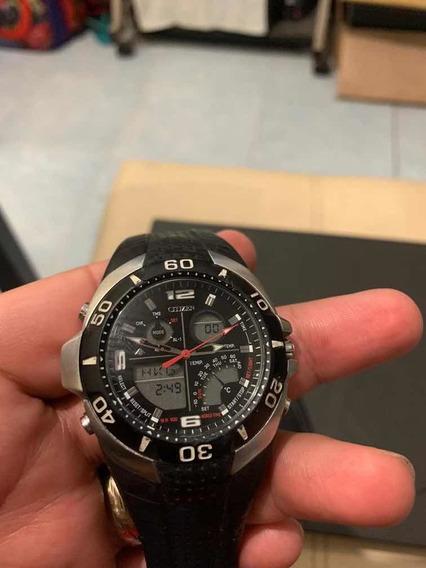 Reloj Citizen Promaster Con Sensor De Temperatura