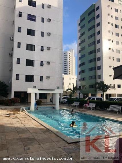 Apartamento Para Venda Em Natal, Lagoa Nova, 2 Dormitórios, 2 Suítes, 2 Banheiros, 1 Vaga - Ka 0789