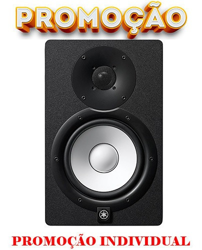 Caixa Monitor Yamaha Hs7 95 Wrms Studio Profissional