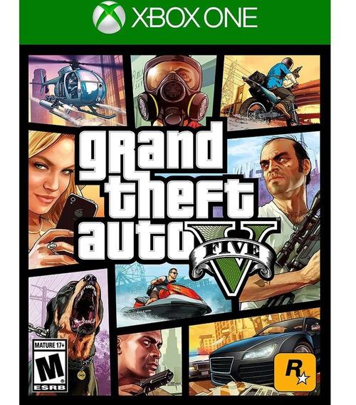 Mídia Digital Gta 5 Xbox One + Brinde
