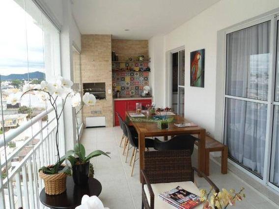 Apartamento Com 3 Dormitórios À Venda, 150 M² Por R$ 950.000 - Vila Nova Socorro - Mogi Das Cruzes/sp - Ap4507