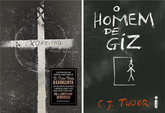 Livro Exorcismo: A História Real + O Homem De Giz