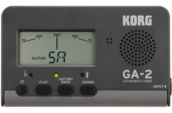 Afinador Para Guitarra Y Bajo Korg Ga-2 Palermo