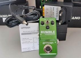 Pedal Guitarra Super Pequeno Overdrive Ammon Mini Ap-19 Top