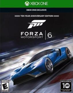 Forza Motorsport 6 Xbox One Fisico Nuevo Sellado Zona Oeste