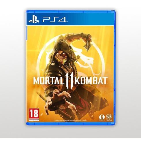 Imagen 1 de 2 de Mortal Kombat 11 Ps4 Fisico Sellado Cuotas Sin Interes Ade