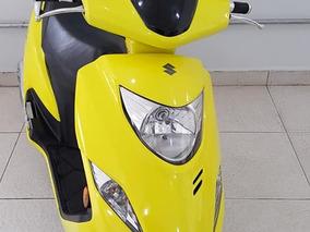Burgman L 125 Amarela 2012/2012 Suzuki