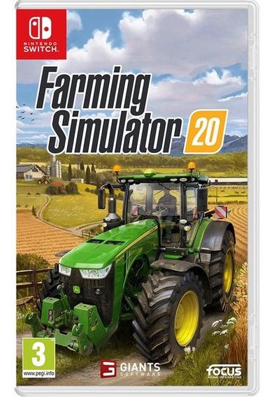 Farming Simulator 20 Em Mídia Física - Nintendo Switch