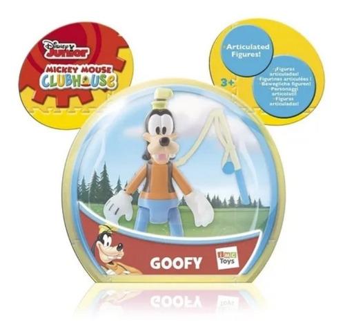Goofy Muñeco Articulado Disney. Mickey Y Sus Amigos.