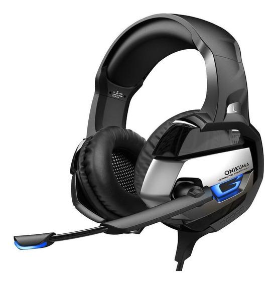 Fone de ouvido gamer Onikuma K5 preto