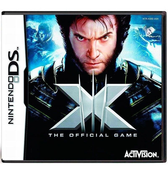 Xmen The Official Game Ds Mídia Física Pronta Entrega