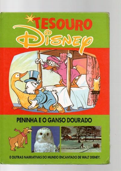 Tesouro Disney Peninha Eo Ganso Dourado Capa Dura