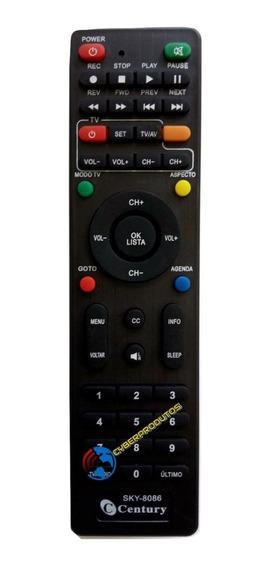 Controle Remoto Century Midia Box B3 / C5 / 7100