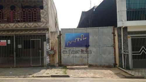 Imagem 1 de 3 de Terreno À Venda, 137 M² Por R$ 380.000,00 - Jardim Marília - São Paulo/sp - Te0087