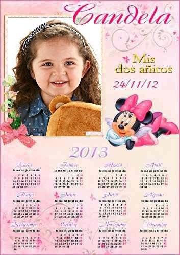 50 Calendários Personalizados - 20x30 Para Sua Festa!!