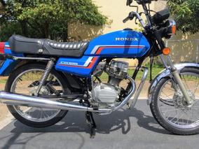 Honda Cg 125 1984 Única - Original - Colecionador