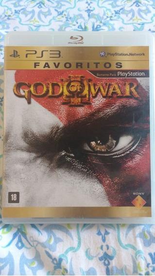 God Of War 3(leia) - Mídia Física - Ps3